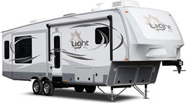 Light by Open Range Fifth Wheel