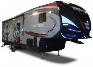 Vengeance Fifth Wheel Toy Hauler 2015