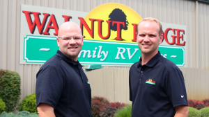 Justin Hart and Nathan Hart, Co-Owners of Walnut ridge Family RV Sales