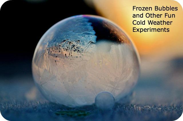 Fun Experiments To Do In The Super Cold Weather Walnut Ridge Rv