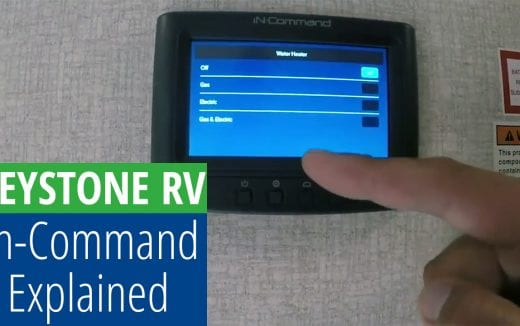 Keystone RV's new In Command System explained
