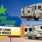 Feature Friday – Front Living Fifth Wheels