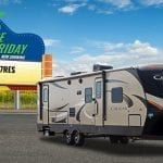 The Cougar 27RES – A fifth wheel floor plan in a travel trailer
