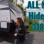 All New Hideout 318LHS Travel Trailer Walk Thru