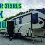 The Cougar 315RLS Fifth Wheel Walk-Thru