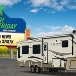 ALL NEW Montana 3741 front kitchen fifth wheel