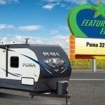 The Puma 32RKTS Travel Trailer: Huge bedroom AND washer/dryer prep