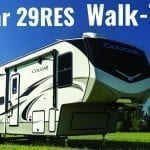 The 2020 Cougar 29RES – Fifth Wheel