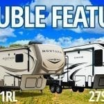 Fifth Wheel Double Feature – The Montana 3121RL and the Cougar 27SGS
