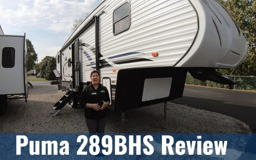 A Puma Fifth Wheel – Walk-Thru of the 289BHS