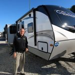 An all new Floorplan – The Cougar 31MBS Travel Trailer
